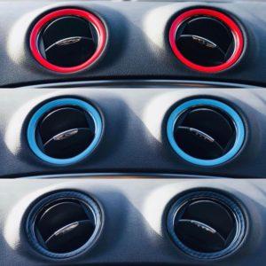 3D Lüftungsringe Mondeo MK4 und Fiesta