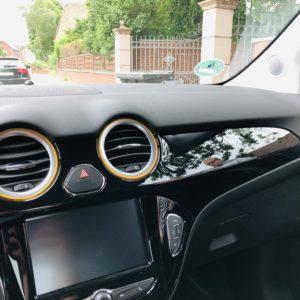 Lüftungsringe und Schaltknaufring Opel Adam 2019