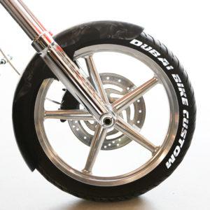 Individuelle Reifenbeschriftung