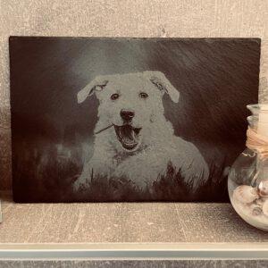 Fotogravur auf Schiefer 30x20cm
